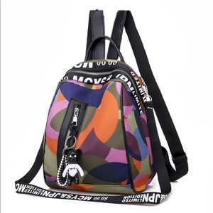 Multi-Colored Backpack